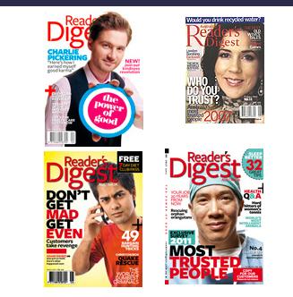 Readers Digest Editor- Josephine Brouard